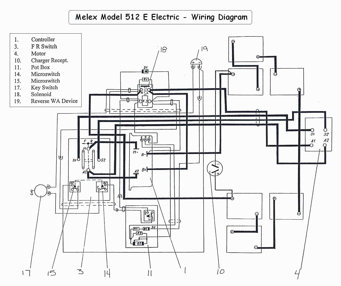 Ez Go Txt Golf Cart Wiring Diagram