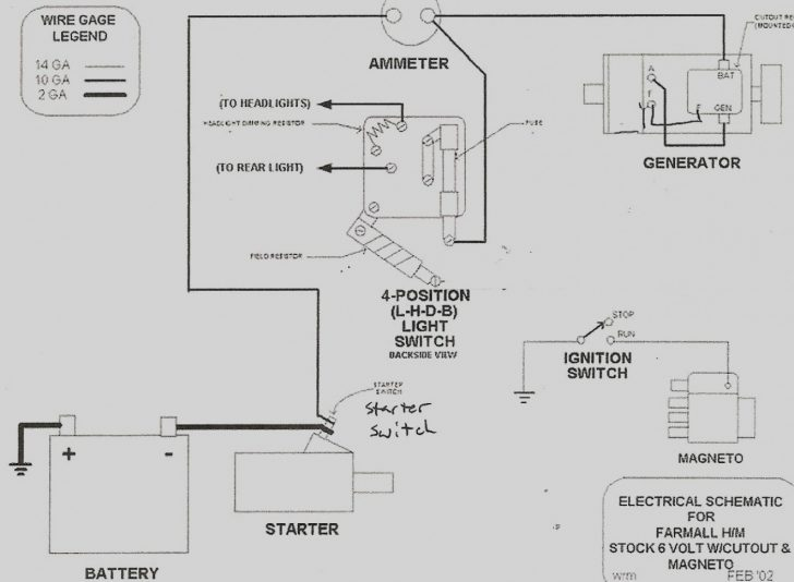 Electrical Wiring Diagram For Farmall 350 - Wiring Diagrams on