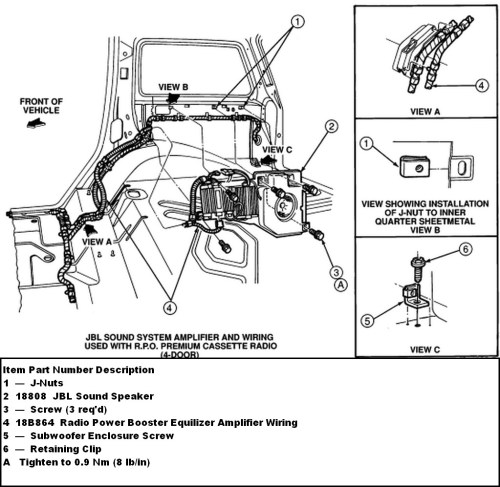 small resolution of trailer wiring harness diagram wirings diagram f150 wiring schematic ford f 150 factory subwoofer wiring diagram