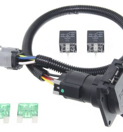 ford replacement oem tow package wiring harness 7 way super duty ford f350 wiring diagram for trailer plug [ 1000 x 804 Pixel ]