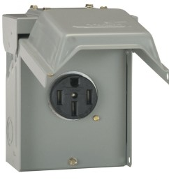 ge 50 amp temporary rv power outlet u054p the home depot 220v hot tub wiring diagram [ 1000 x 1000 Pixel ]