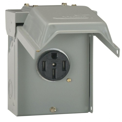 small resolution of ge 50 amp temporary rv power outlet u054p the home depot 220v hot tub wiring diagram