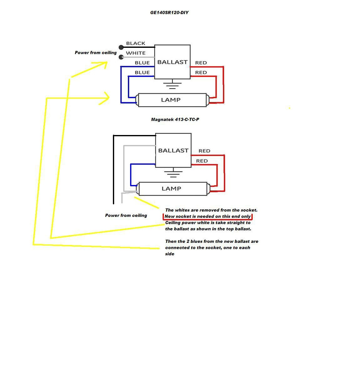 hight resolution of ge stepped dimming ballast wiring diagram fuse box u0026 wiring diagramge proline t8 ballast wiring