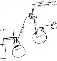 volt meter with 2 wire alternator wiring diagram wiring diagram a7 2 wire gm alternator wiring [ 1024 x 791 Pixel ]