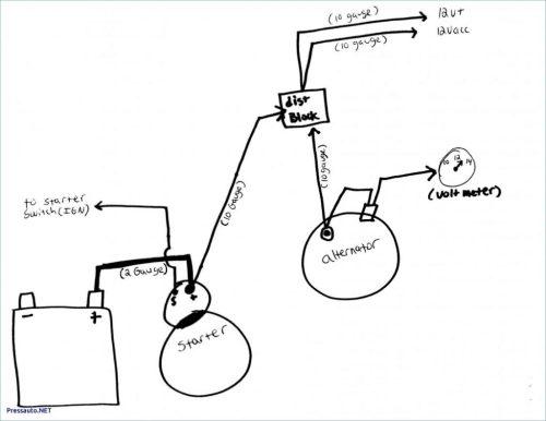 small resolution of volt meter with 2 wire alternator wiring diagram wiring diagram a7 2 wire gm alternator wiring