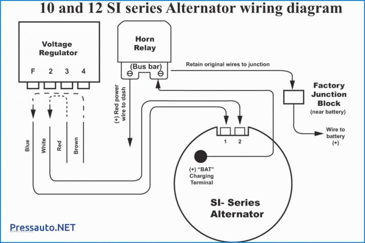 how does the exciter wire work on a car alternator 12 volt