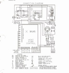goodman heat pump thermostat wiring diagram unique heat pump on goodman blower motor  [ 1268 x 1655 Pixel ]