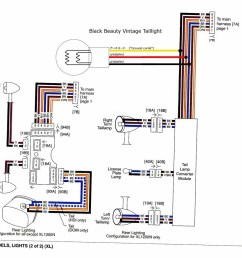 harley sportster tail light wiring diagram manual e books harley davidson tail light wiring diagram [ 1000 x 873 Pixel ]