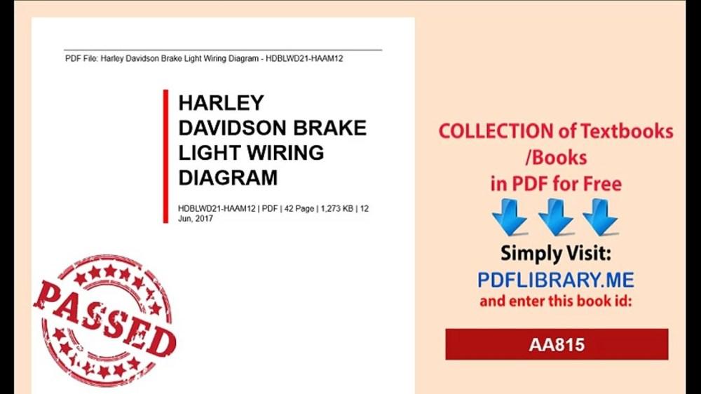 medium resolution of harley sportster tail light wiring diagram wiring library harley davidson tail light wiring diagram