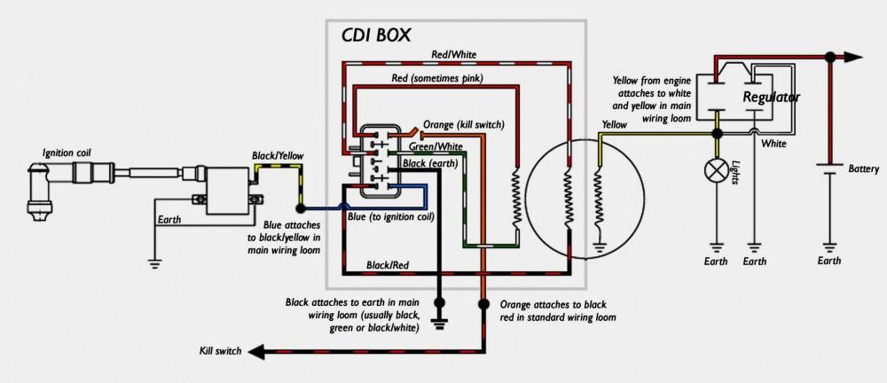 medium resolution of honda cdi box wiring wiring diagram 6 pin cdi wiring diagram