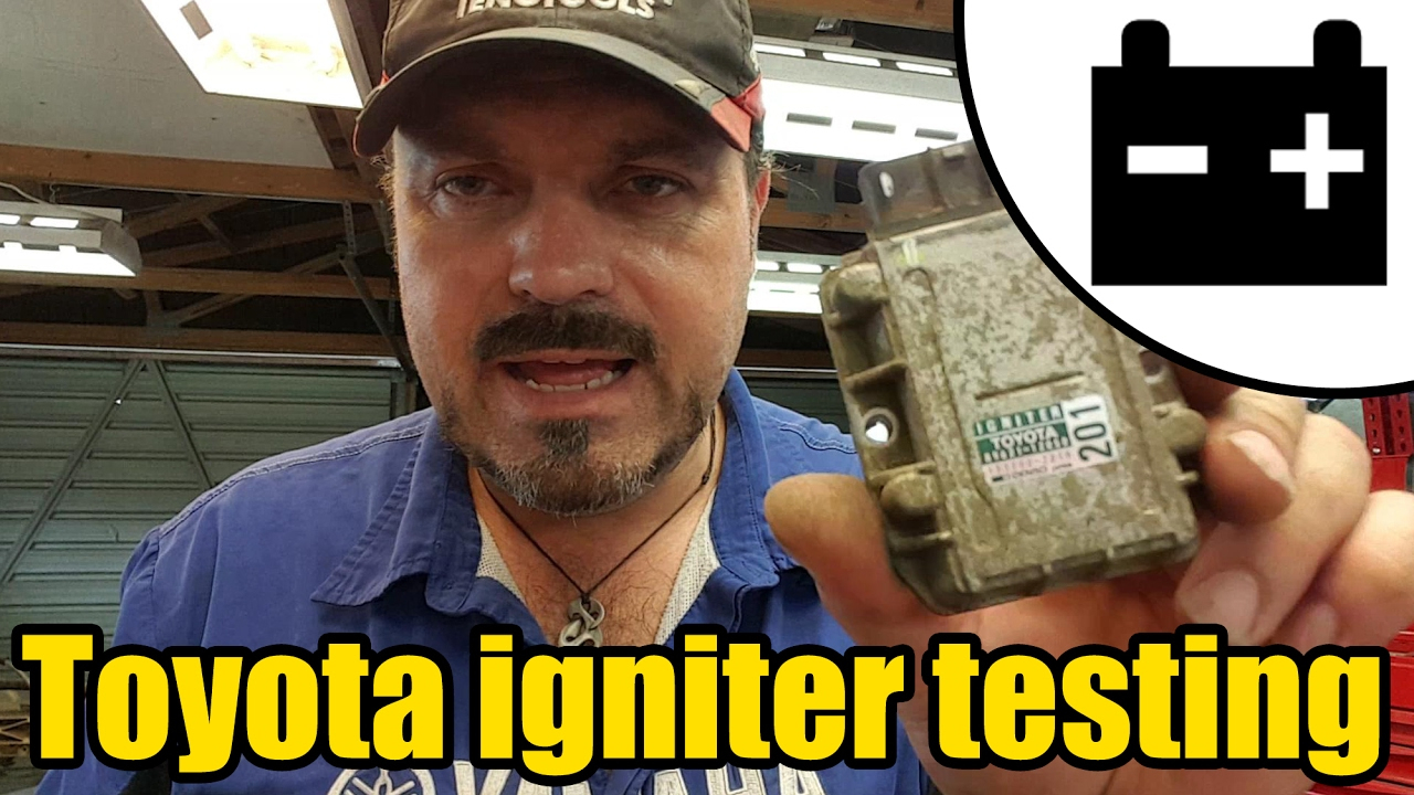 hight resolution of how to test a toyota ignition igniter 1421 youtube toyota igniter wiring diagram