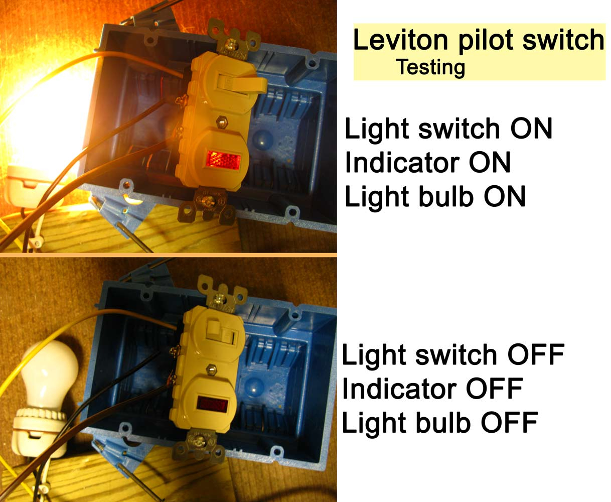 Wiring Diagram For Combination Switch And Outlet