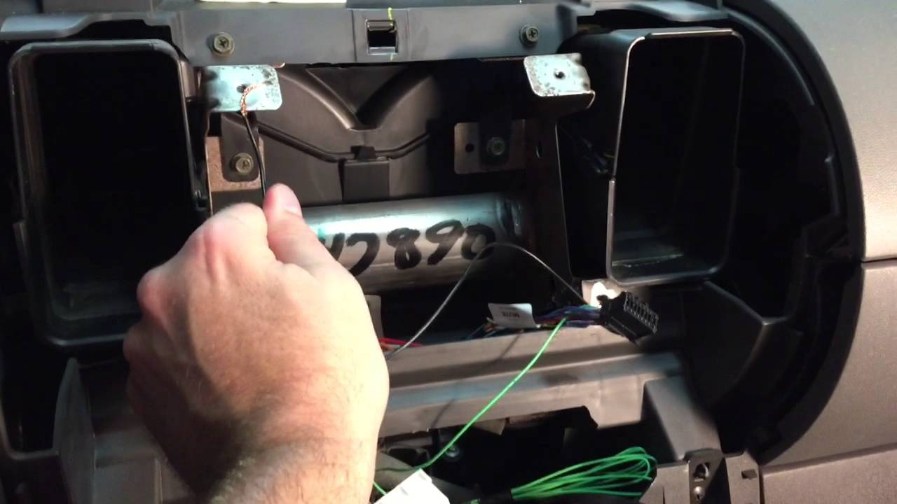 hight resolution of install double din pioneer appradio 4 stereo in 2006 nissan xterra pioneer head unit wiring diagram