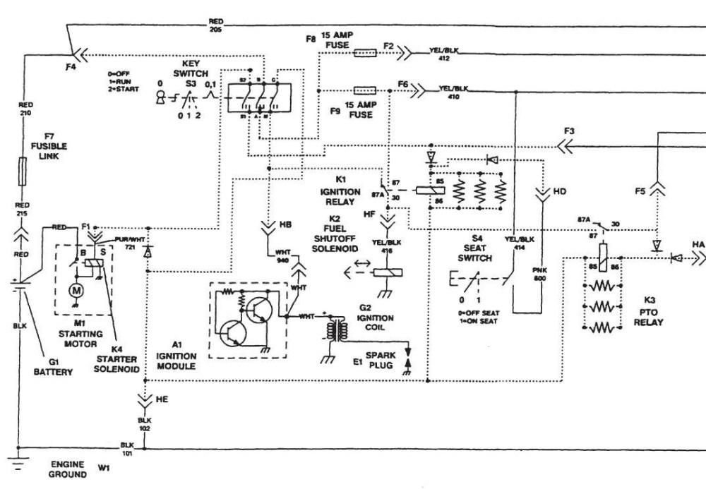 medium resolution of john deere lt133 wiring diagram manual e books john deere lt133 wiring diagram