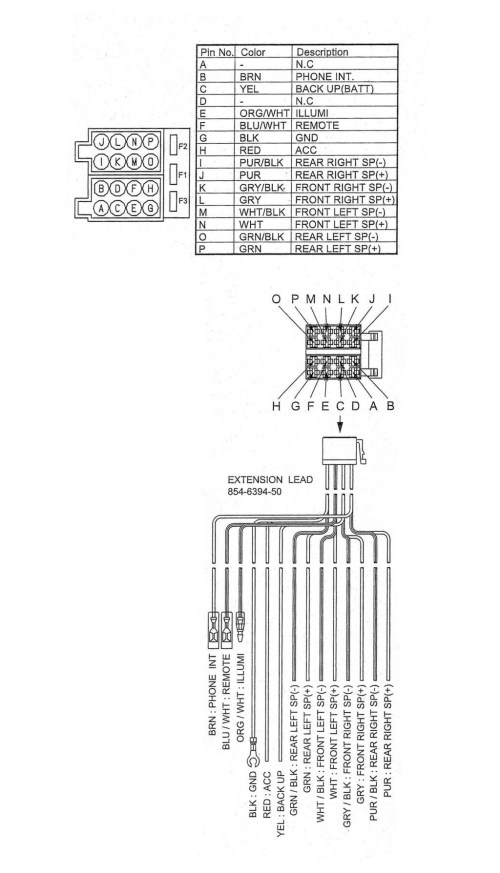small resolution of  kenwood kmr bt wiring harness diagram on