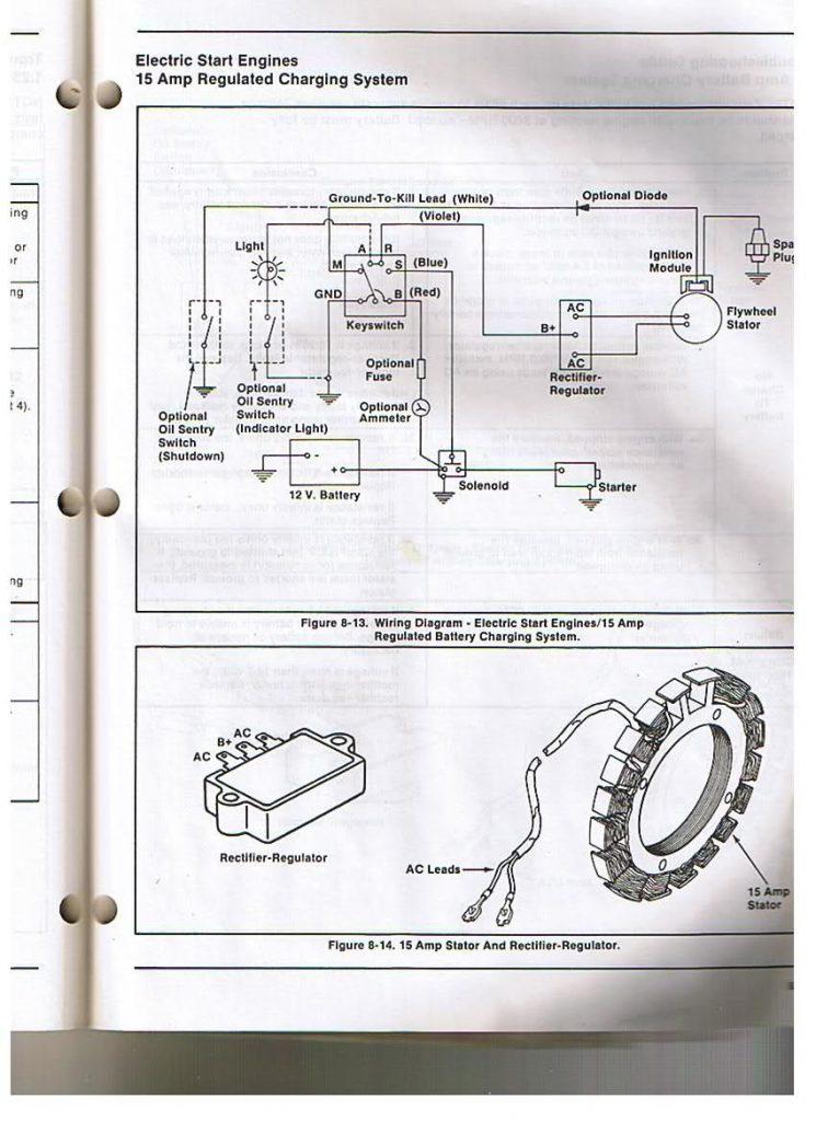 Wiring Diagram For A Kohler Engine