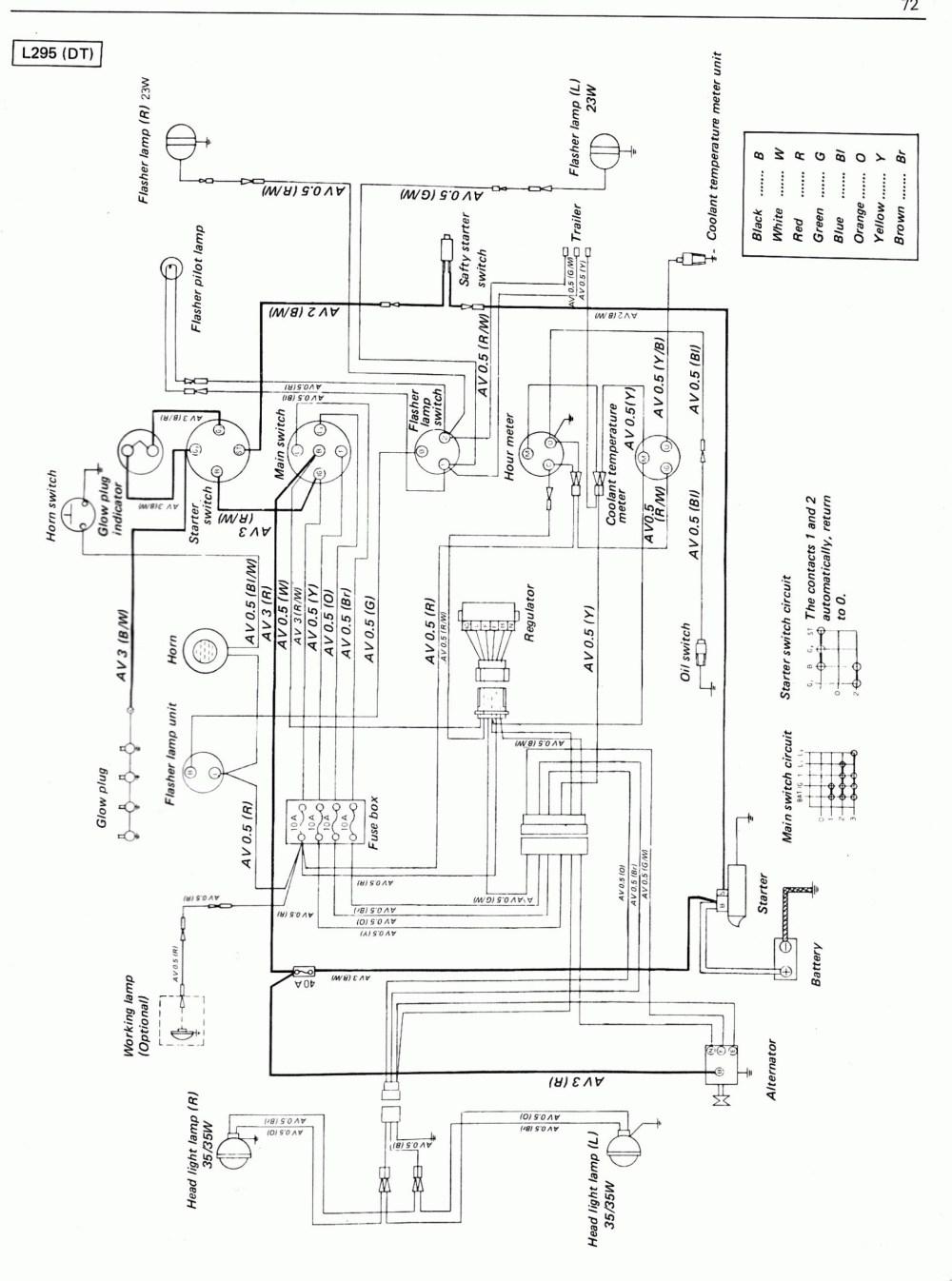 medium resolution of kubota f2400 ignition switch wiring diagram wiring diagram kubota wiring diagram pdf