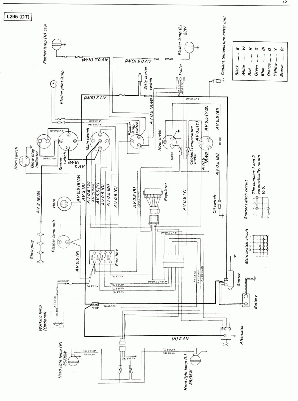 medium resolution of kubota tractor alternator wiring diagram wiring diagram yer kubota denso alternator wiring diagram
