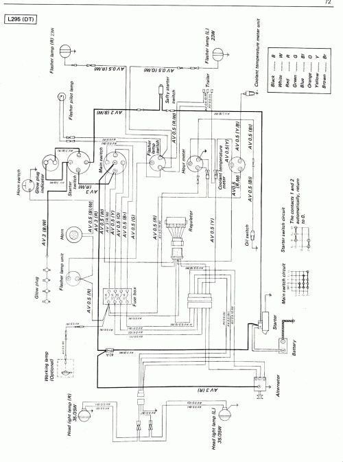 small resolution of kubota tractor alternator wiring diagram wiring diagram yer kubota denso alternator wiring diagram