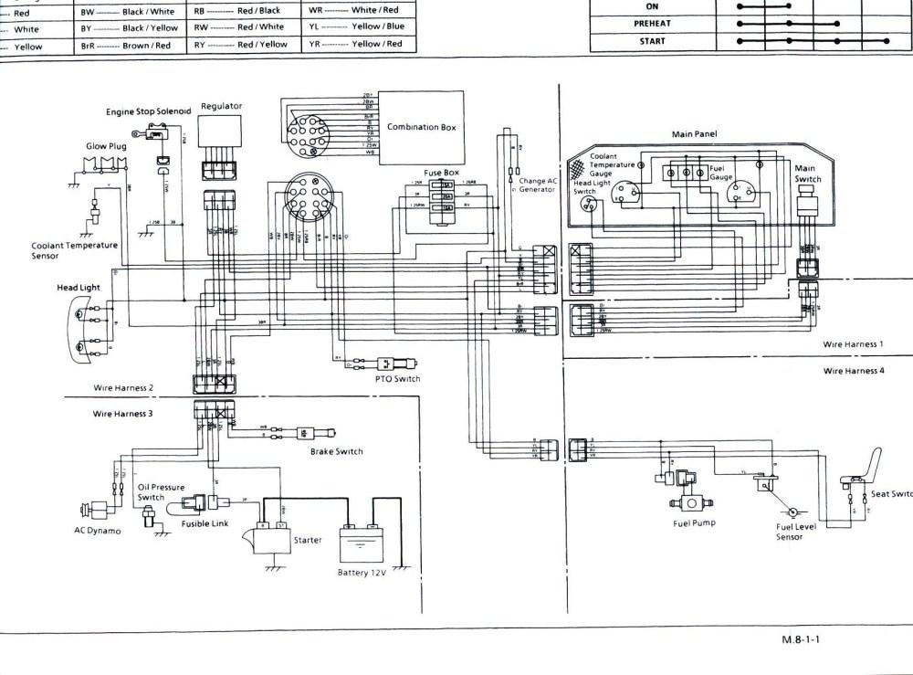 medium resolution of kubota wiring harness wiring diagram gol kubota tractor radio wiring wiring diagram sys kubota l245dt wiring