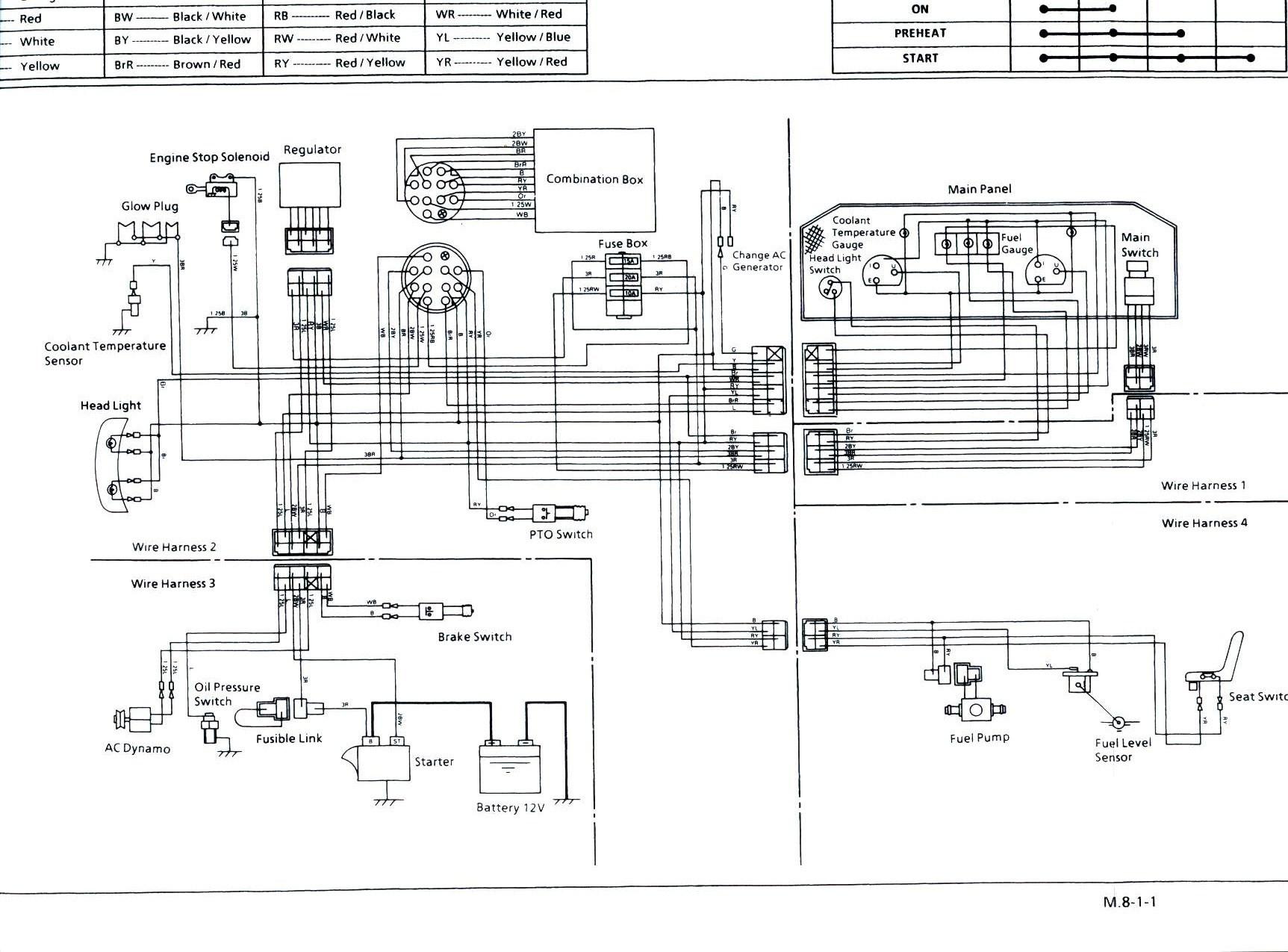 hight resolution of kubota wiring harness wiring diagram gol kubota tractor radio wiring wiring diagram sys kubota l245dt wiring
