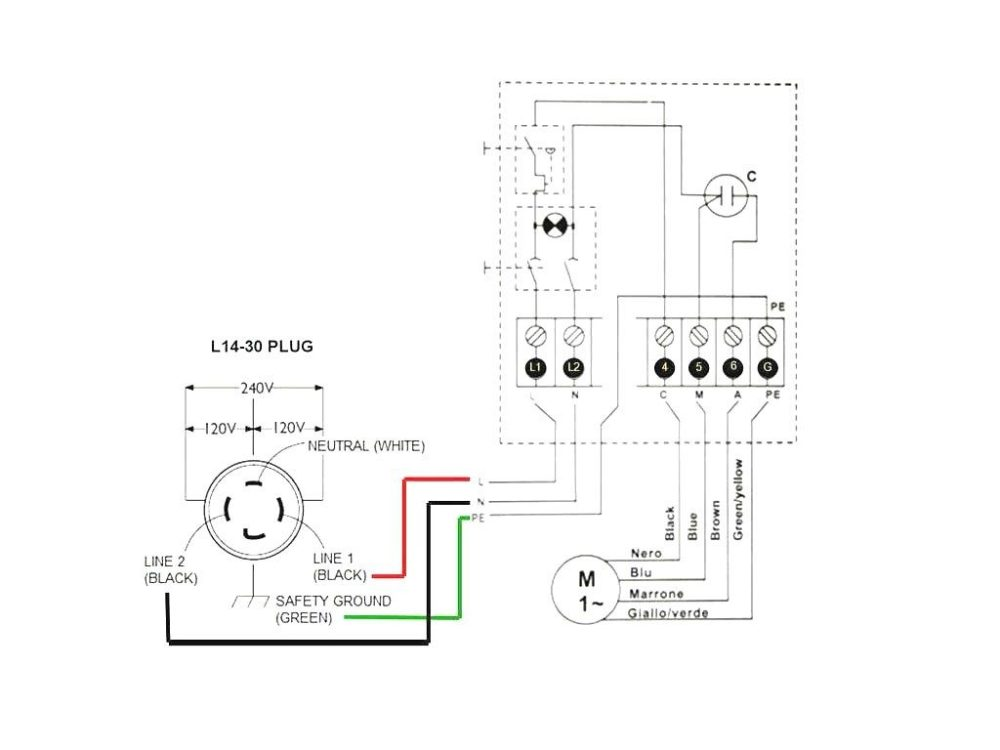 medium resolution of  l14 20 plug wiring diagram 3 prong twist lock fresh 30 amp 4 picture 3 prong