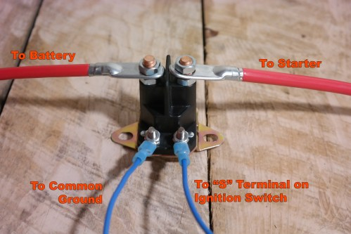 small resolution of  basic tractor starter solenoid wiring diagram on starter relay wiring diagram ford 5000 tractor wiring