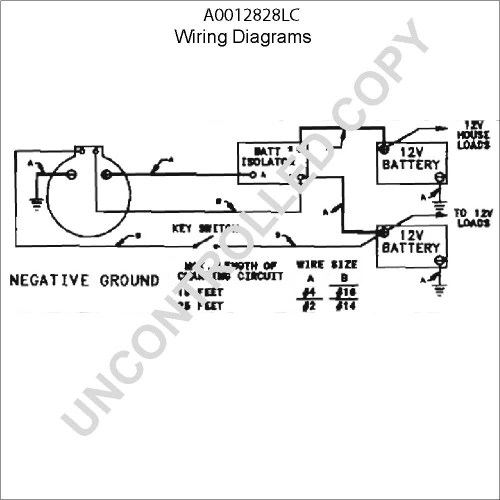 small resolution of  leece neville alternators wiring diagram wirings diagram on 24 volt alternator