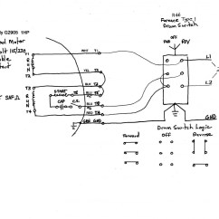 Reversing Drum Switch Wiring Diagram Atc 70 Ac Schema Leeson Motor For A Westinghouse Four Speeds