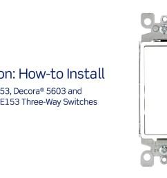 leviton presents how to install a three way switch youtube leviton 3 [ 1280 x 720 Pixel ]