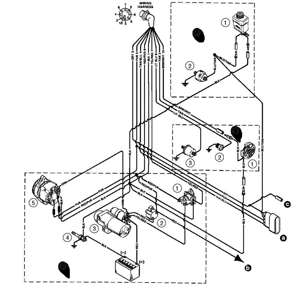 medium resolution of 5 7 mercruiser wiring diagram wiring diagram g8 mercruiser 350 alternator wiring diagram mercruiser 350 wiring diagram