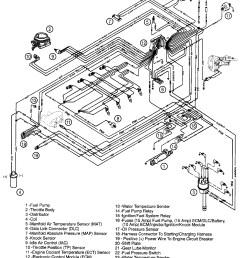 fuel injected 350 mercruiser engine diagram [ 1814 x 2319 Pixel ]