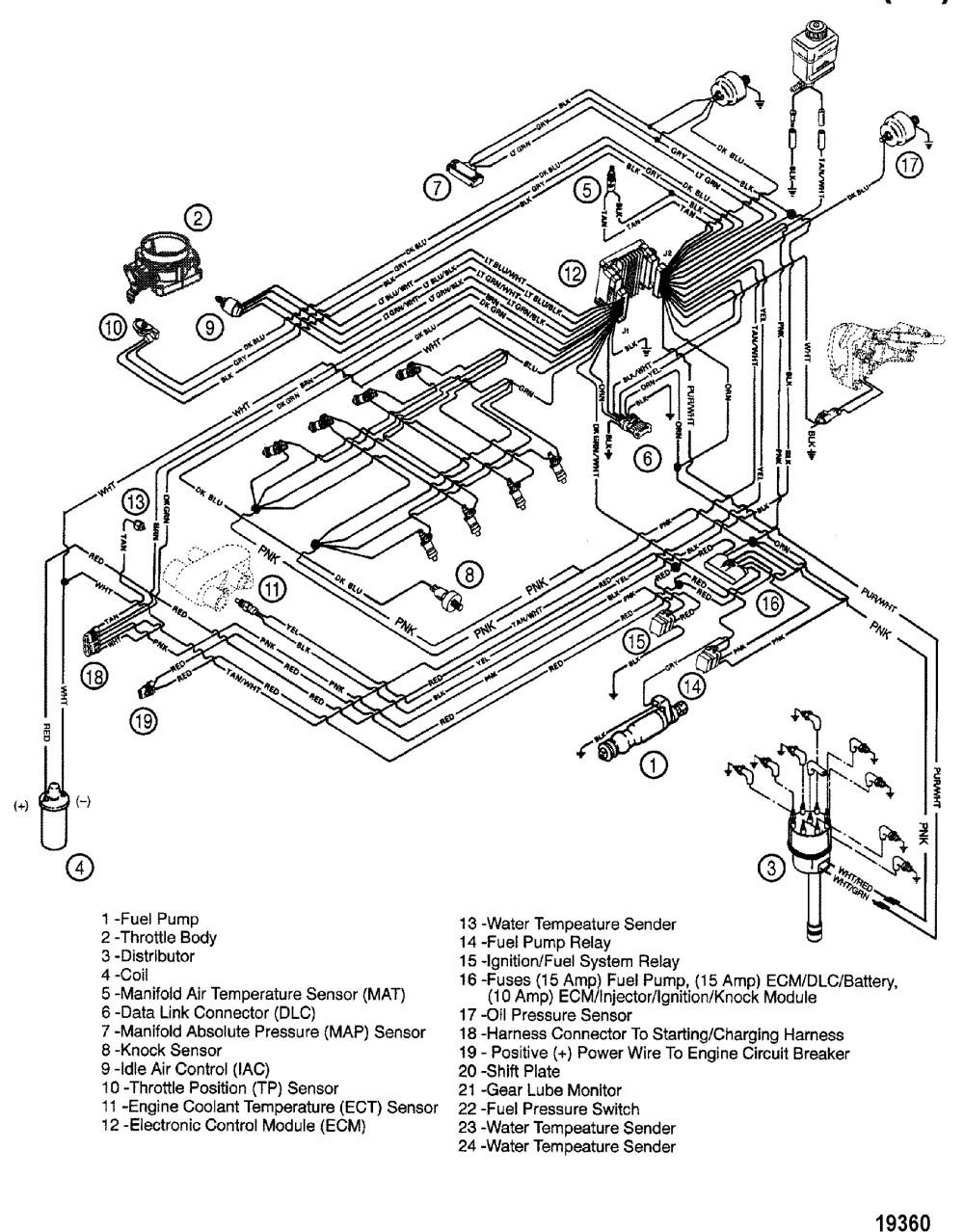 medium resolution of fuel injected 350 mercruiser engine diagram