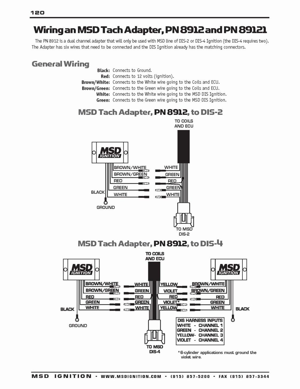 medium resolution of  msd 6a tach wiring wiring liry msd digital 6 plus wiring
