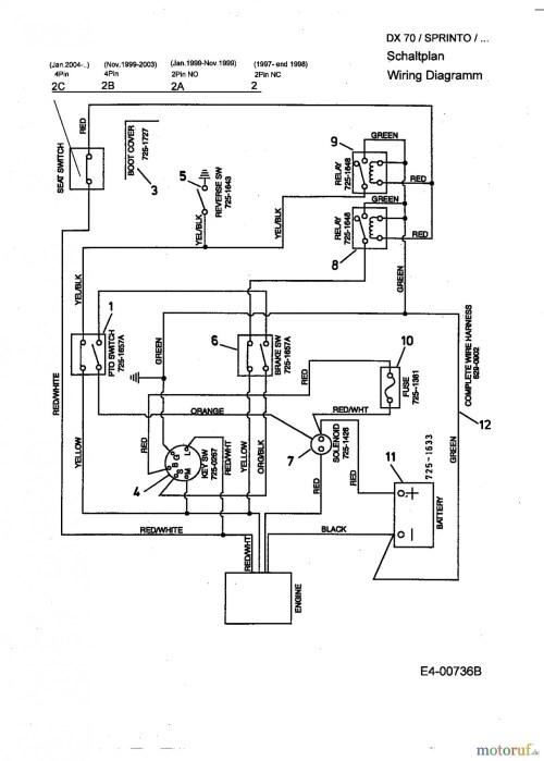 small resolution of mtd 13cd609g063 wiring diagram wiring diagrams data mtd ignition switch wiring diagram source mtd lawn mower