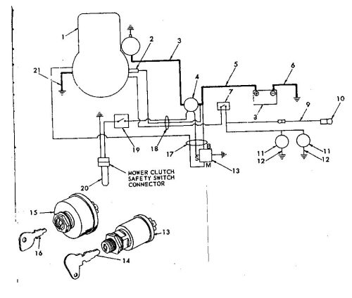 small resolution of murray lawn mower ignition switch wiring diagram wirings diagram toro wiring schematic murray ignition switch wiring