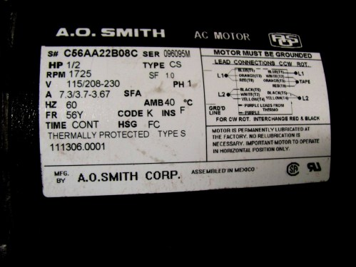 small resolution of ao smith motor wiring diagram wiring diagram info ao smith pool motor wiring diagram