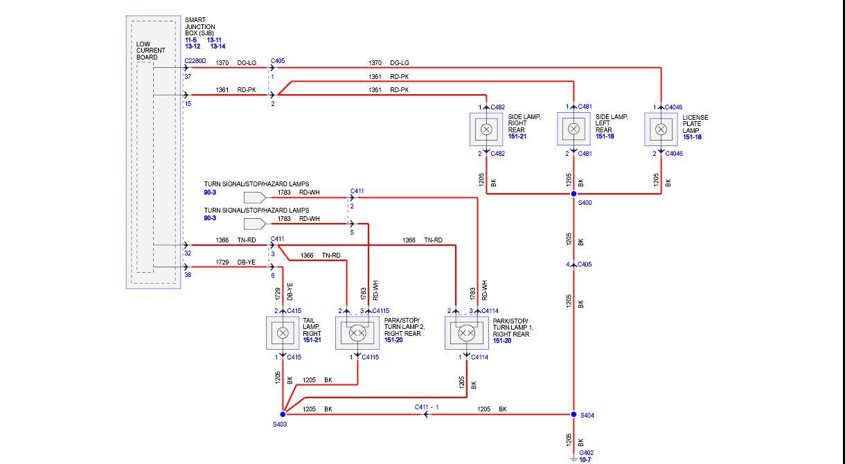 hight resolution of nova tail light wire diagram 3 wiring diagram stop turn tail light wiring diagram