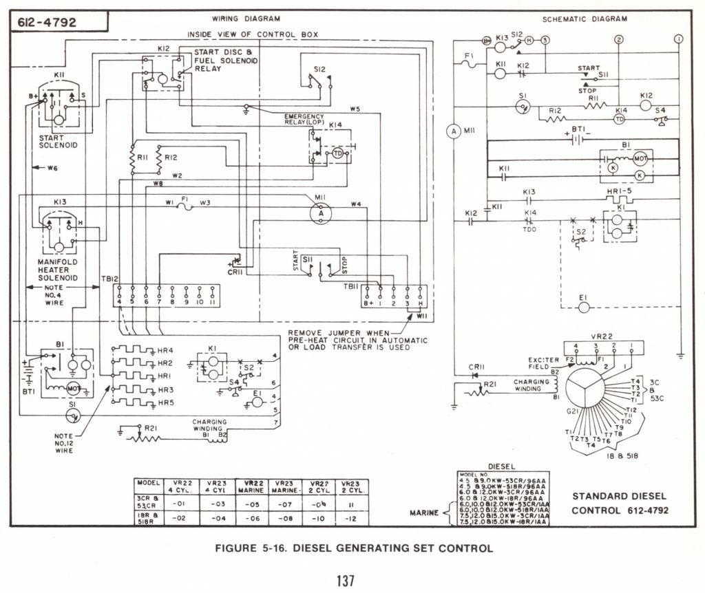 Onan 5000 Generator Wiring Diagram Remote. Onan Generators