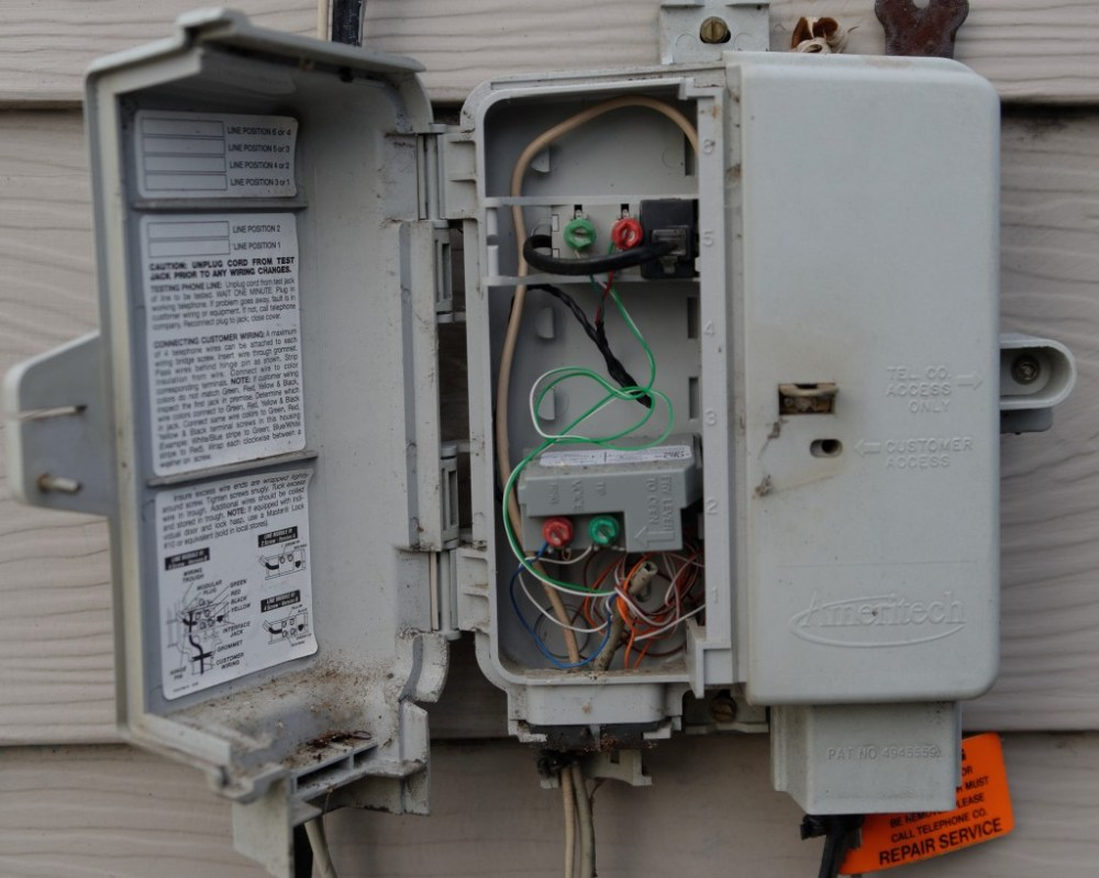 medium resolution of wiring a phone box wiring diagram writehow to wire phone line to outside box on outside