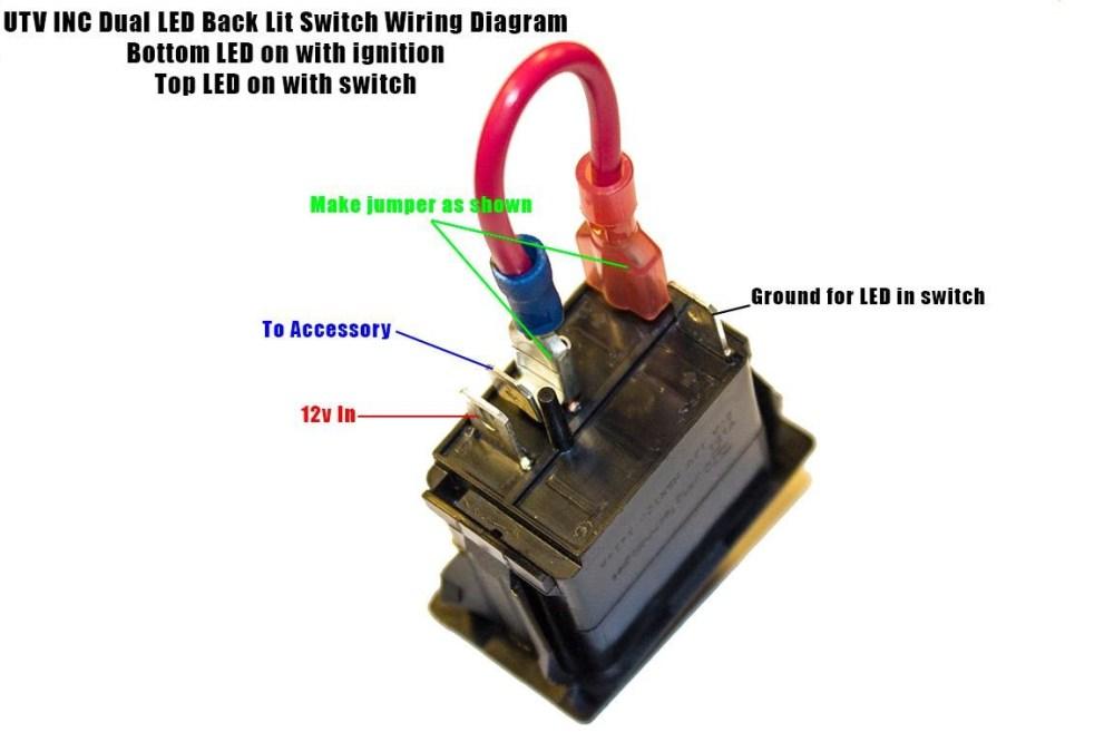 medium resolution of rocker switch help kawasaki teryx forum exceptional pin toggle 4 pin rocker switch wiring diagram