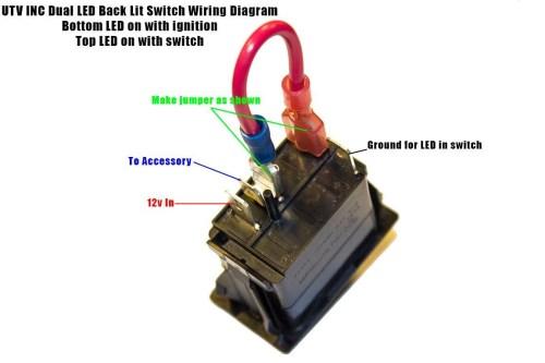 small resolution of rocker switch help kawasaki teryx forum exceptional pin toggle 4 pin rocker switch wiring diagram