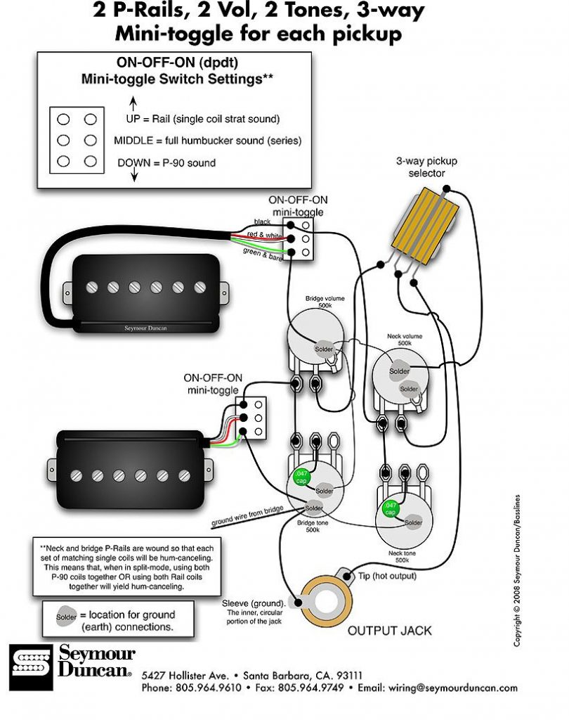 hight resolution of hss wiring diagram coil split wirings diagram seymour duncan p rails wiring diagram 2 p rails