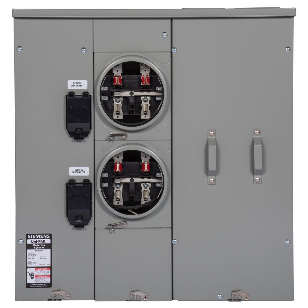 hight resolution of  toyota sie uni pak 2 gang 225 amp tenant main breaker meter socket