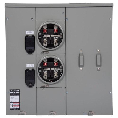 small resolution of  toyota sie uni pak 2 gang 225 amp tenant main breaker meter socket
