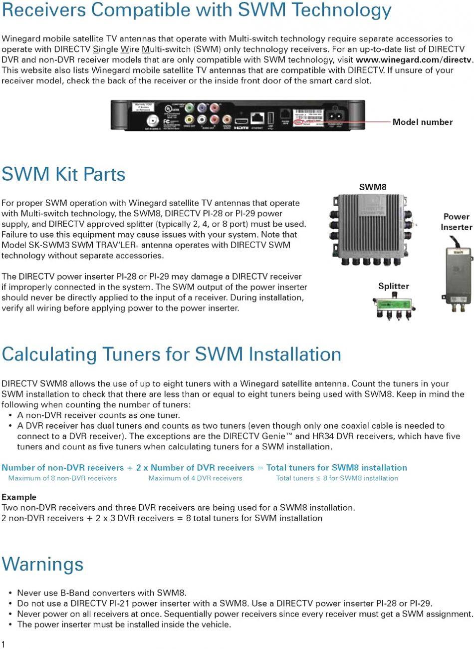 medium resolution of single wire multiswitch diagram wiring diagram directv swm 8 wiring diagram