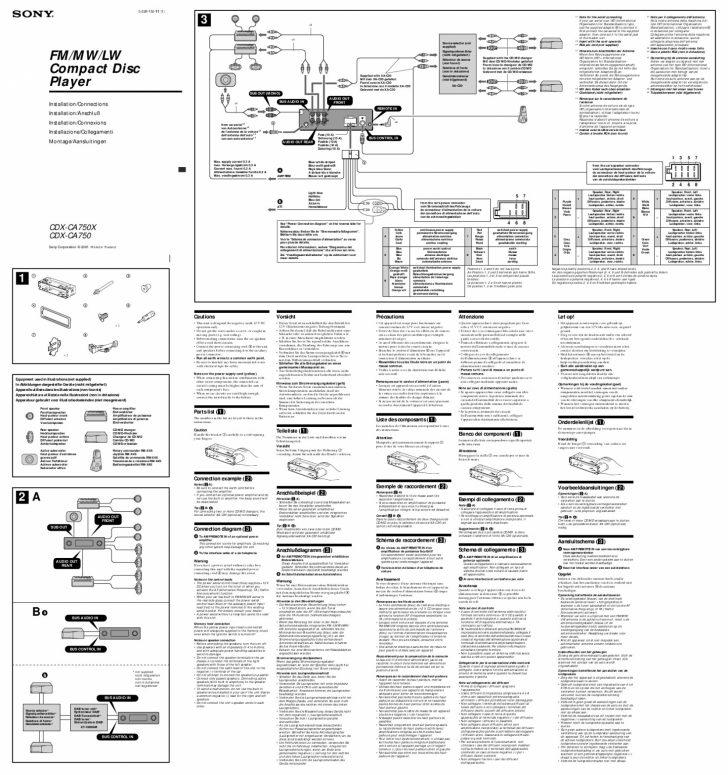 Wiring Diagram Sony Xplod Car Stereo