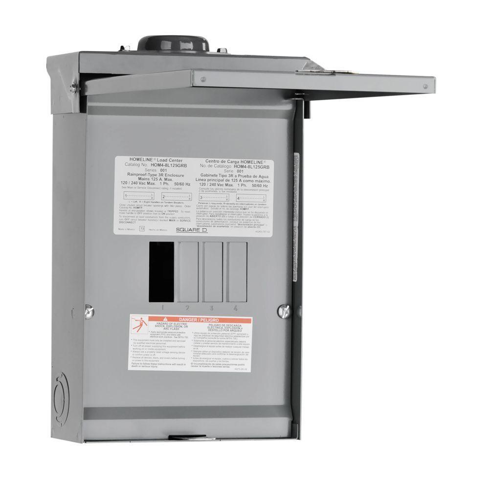 Homeline Panel Wiring Diagram