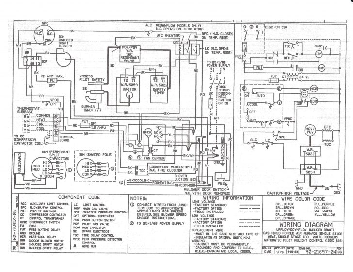tempstar gas furnace wiring diagram  2003 tacoma fuse box