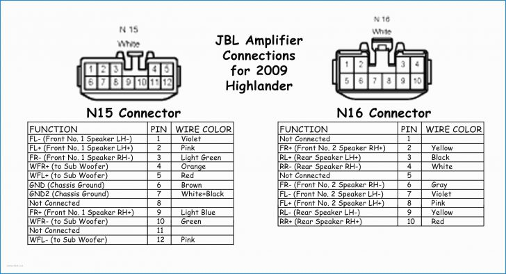 2009 Toyota Camry Jbl Amplifier WRG5660 Wiring Diagram For